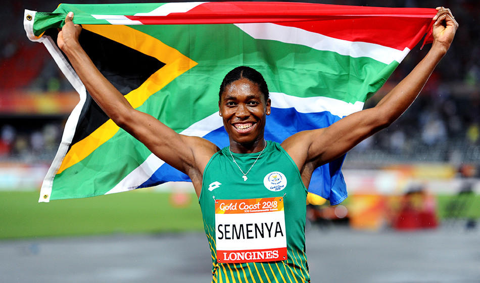 Photo of Caster Semanya by Mark Shearman