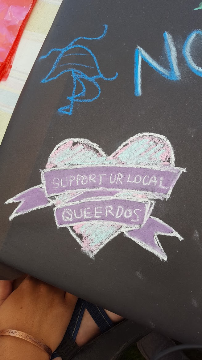 support your local queerdos