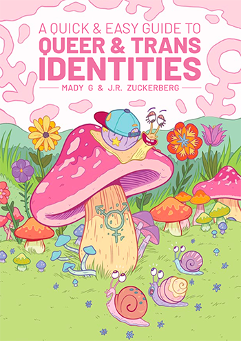 cover of a quick and easy guide to queer and trans identities