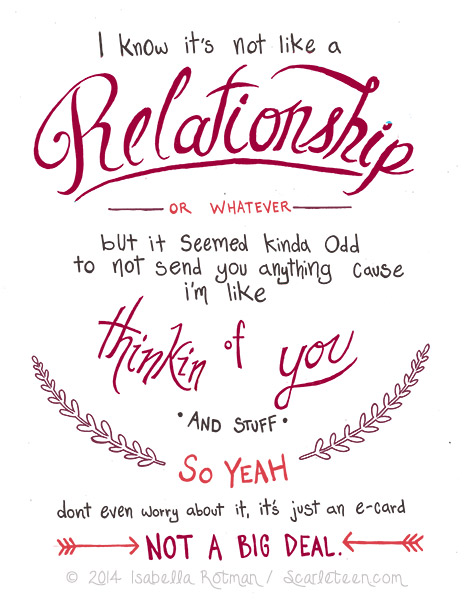 Scarleteen ECards – Virtual Valentines Day Cards
