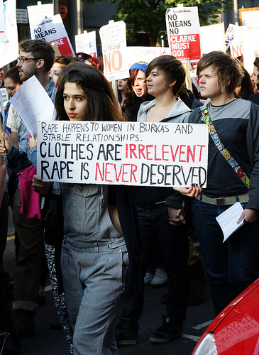 From SlutWalk Manchester by Man Alive!