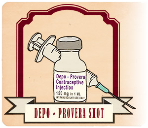 history of depo provera Can you get depo shot early - can i get my depo shot one day early early depo yes if you are late for it is when there is a problem  depo provera.