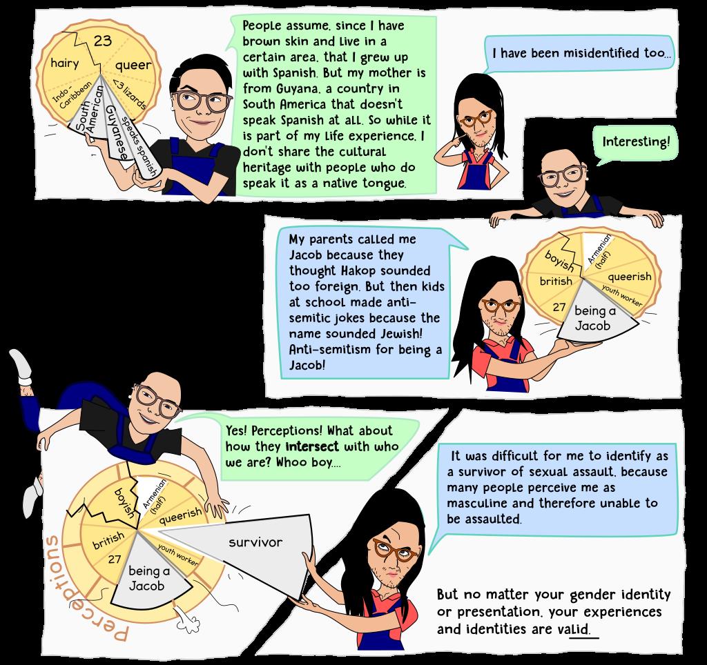 Second frames of webcomic