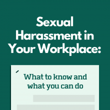 Sexual Harassment in Your Workplace