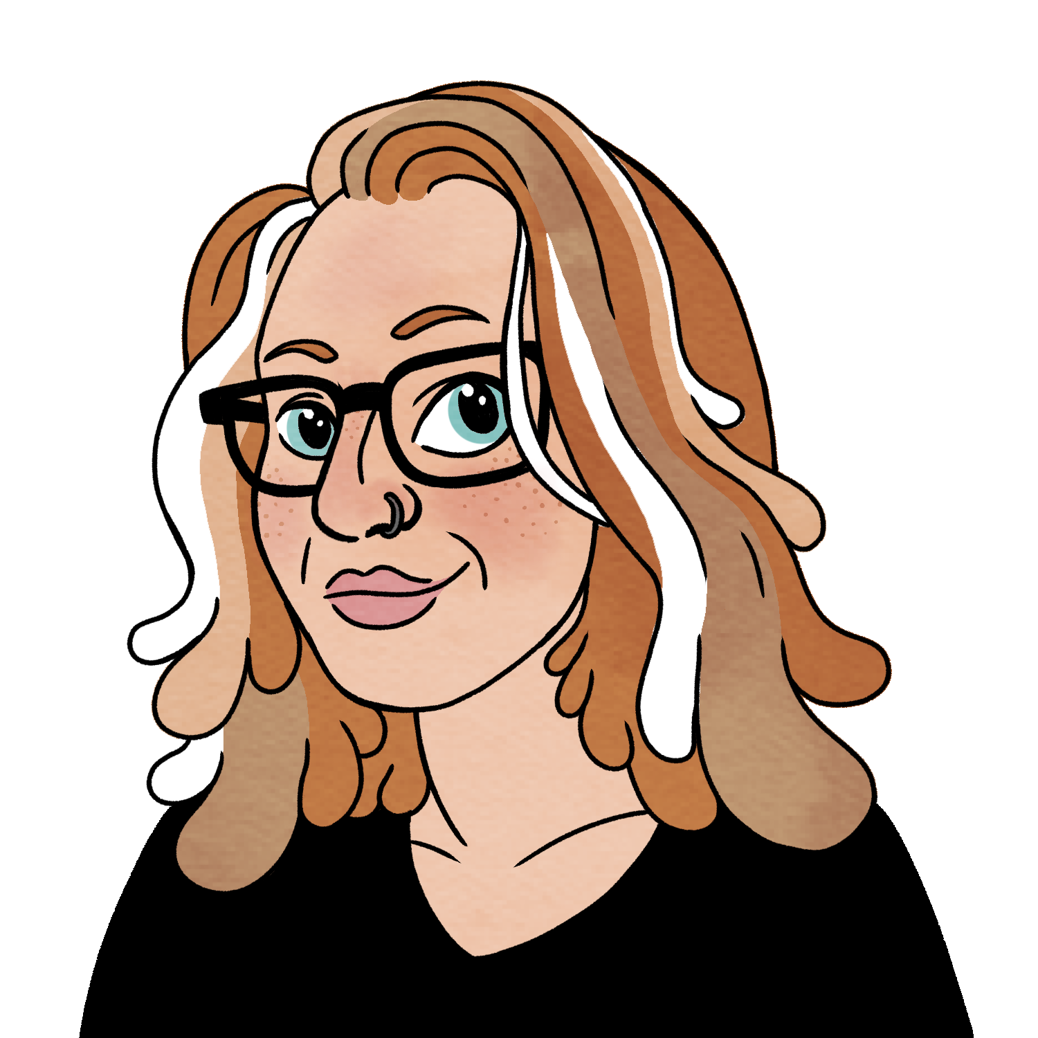 illustration of Heather Corinna (2018) by Isabella Rotman